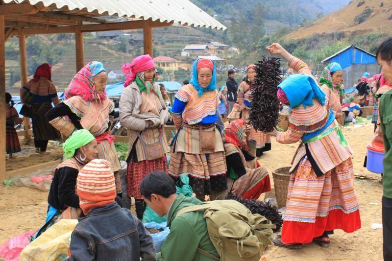 Les marchés ethniques de la province de Lao Cai