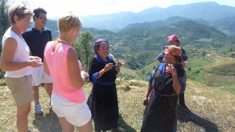 Les rencontres avec la population vietnamienne
