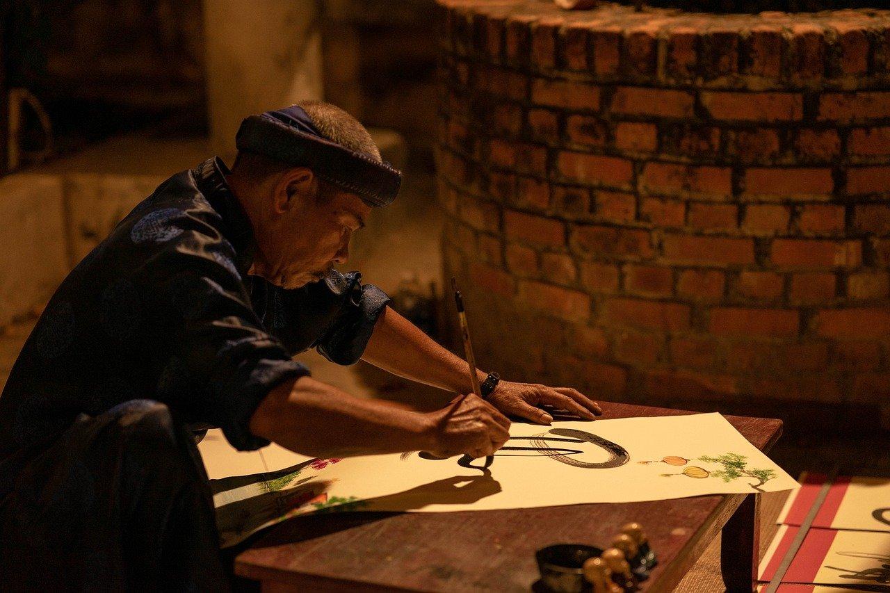 La calligraphie du Vietnam