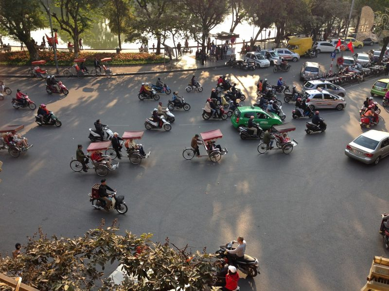Les taxis au Vietnam