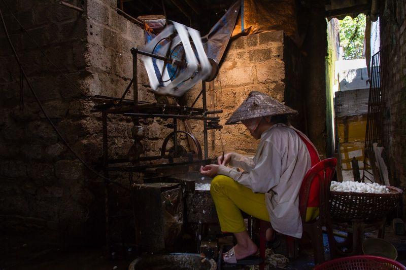 La soie du Vietnam